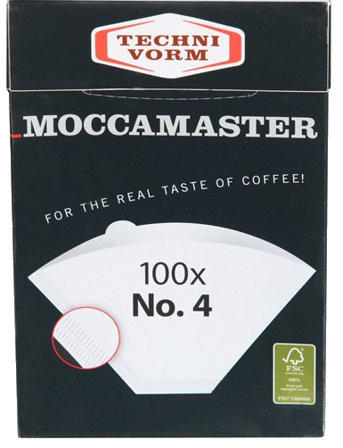 Moccamaster papīra filtri 4